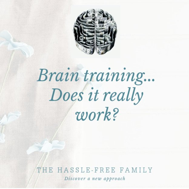 Brain Training … does it really work?;