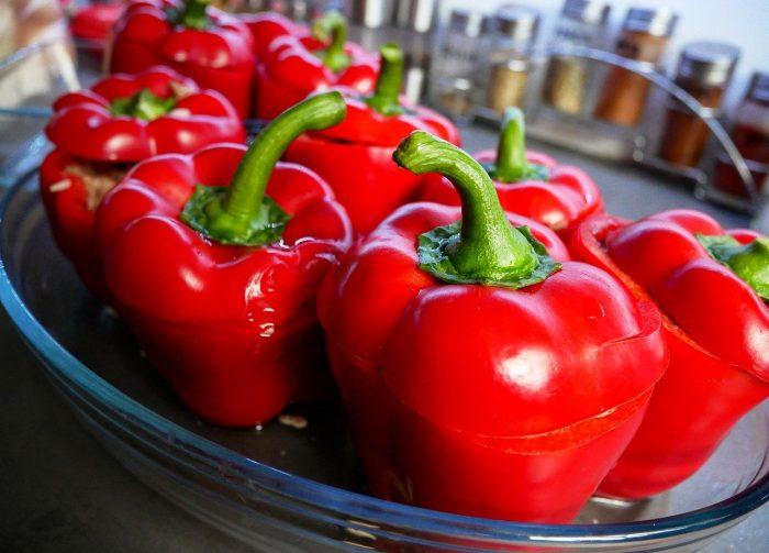 Stuffed Peppers;